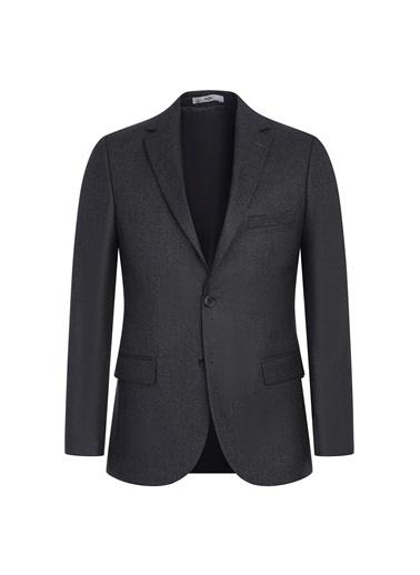 Kiğılı Klasik Ceket Siyah